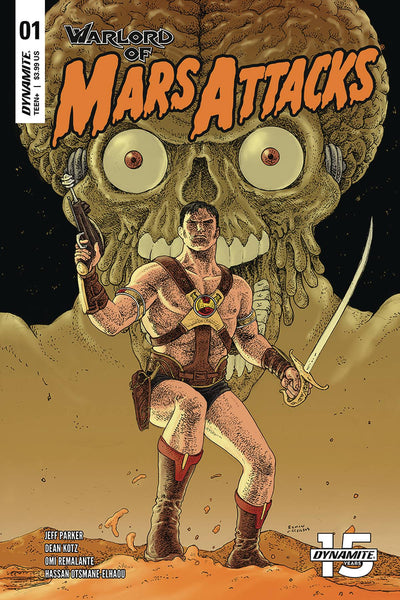 WARLORD OF MARS ATTACKS #1 CVR C VILLALOBOS