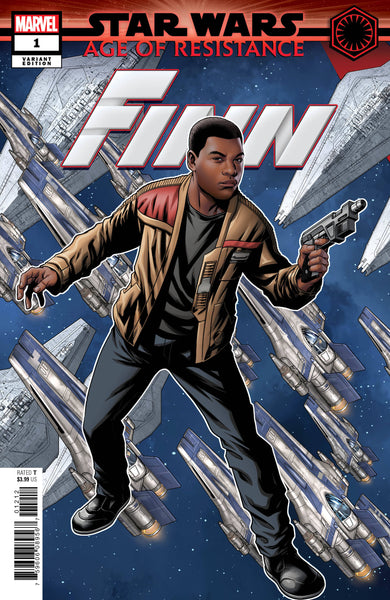 STAR WARS AOR FINN #1 MCKONE PUZZLE PC VAR - Kings Comics
