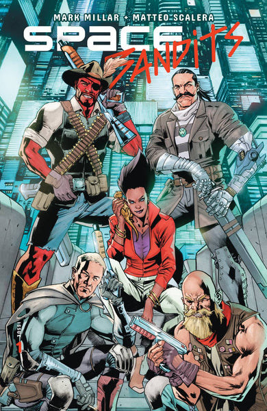 SPACE BANDITS #1 CVR D HITCH