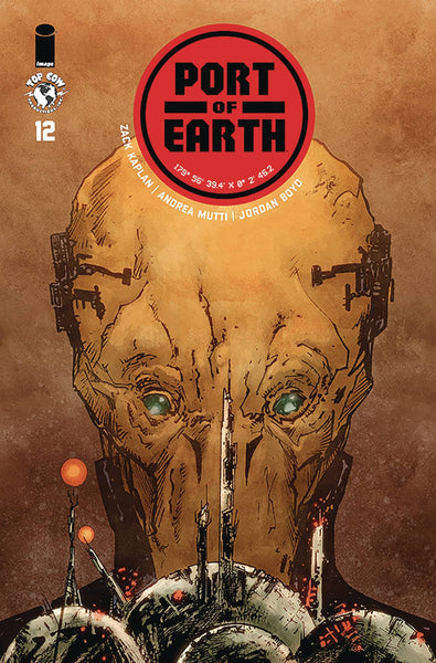 PORT OF EARTH #12 - Kings Comics