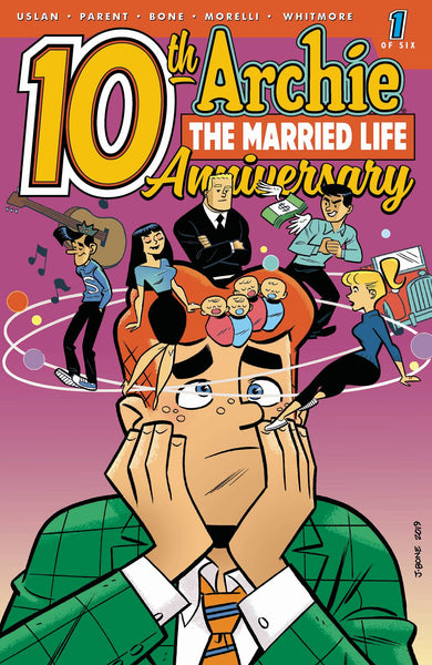 ARCHIE MARRIED LIFE 10 YEARS LATER #1 CVR B BONE - Kings Comics