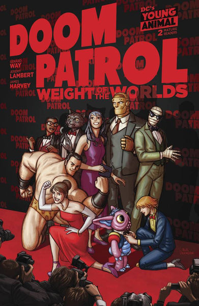 DOOM PATROL THE WEIGHT OF THE WORLDS #2 - Kings Comics