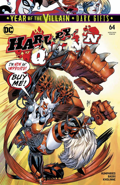 HARLEY QUINN VOL 3 #64 YOTV DARK GIFTS - Kings Comics