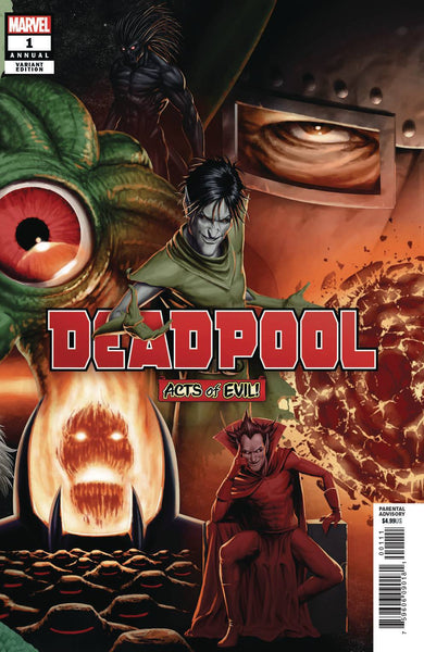DEADPOOL VOL 6 ANNUAL #1 CHRISTOPHER CONNECTING VAR - Kings Comics