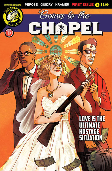 GOING TO THE CHAPEL #1 CVR A LISA STERLE - Kings Comics