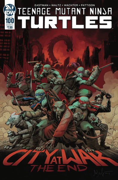 TEENAGE MUTANT NINJA TURTLES #100 CVR A WACHTER - Kings Comics