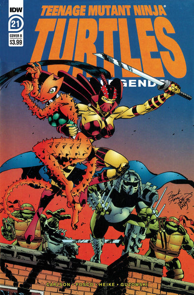 TMNT URBAN LEGENDS #21 CVR B FOSCO & LARSEN