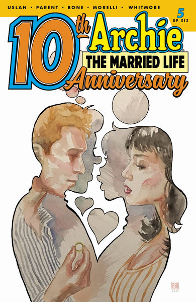 ARCHIE MARRIED LIFE 10 YEARS LATER #5 CVR B MACK - Kings Comics