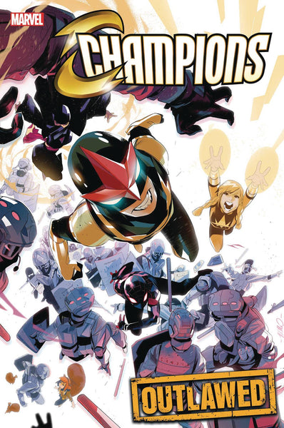 CHAMPIONS VOL 5 #1 DI MEO VAR - Kings Comics