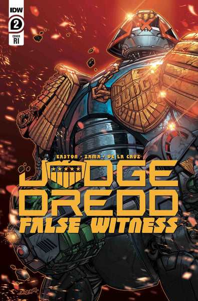JUDGE DREDD FALSE WITNESS #2 10 COPY INCV MEYERS