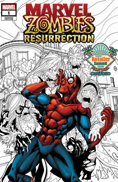 MARVEL ZOMBIES RESURRECTION #1 RETAILER SUMMIT 2020 VAR