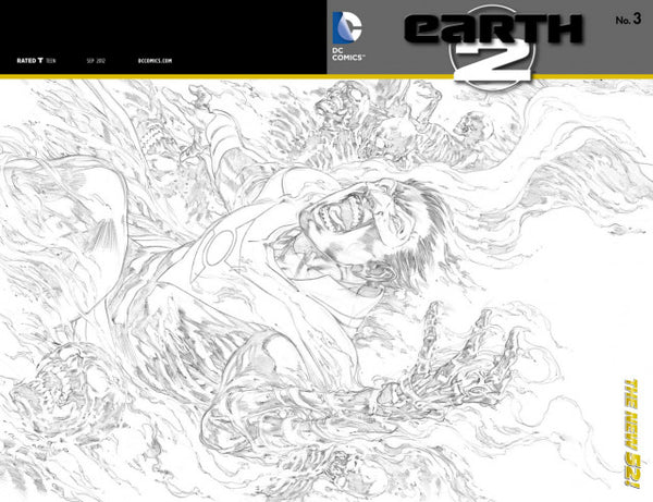 EARTH 2 #3 VAR ED
