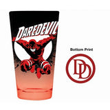 DAREDEVIL BOTTOM PRINT PINT GLASS - Kings Comics