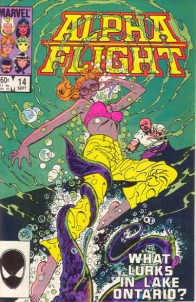 ALPHA FLIGHT #14 - Kings Comics