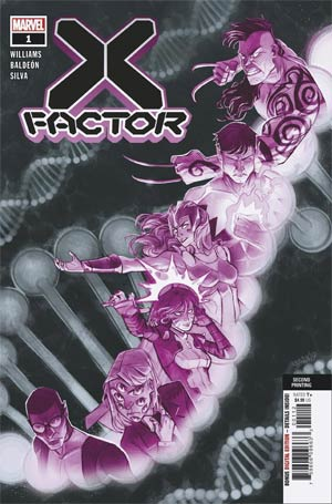 X-FACTOR VOL 4 #1 2ND PTG SHAVRIN VAR - Kings Comics