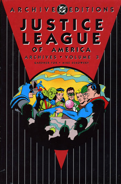 JUSTICE LEAGUE OF AMERICA ARCHIVES HC VOL 03