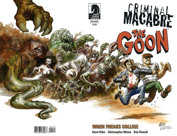 CRIMINAL MACABRE GOON WHEN FREAKS COLLIDE POWELL VAR CVR - Kings Comics