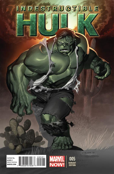 INDESTRUCTIBLE HULK #5 STEVENS VAR NOW
