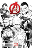AVENGERS VOL 5 #1 MCNIVEN SKETCH VAR NOW
