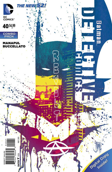DETECTIVE COMICS VOL 2 #40 COMBO PACK