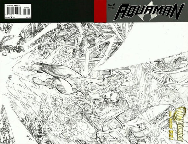 AQUAMAN VOL 5 #6 VAR ED