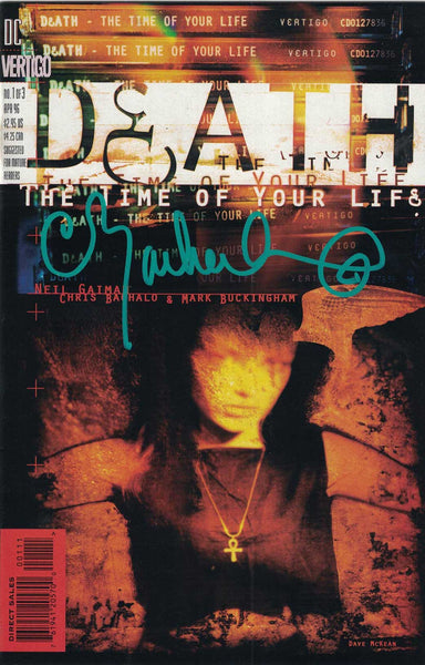 DEATH THE TIME OF YOUR LIFE (1996) #1 SIGNED BY ARTIST CHRIS BACHALO - Kings Comics