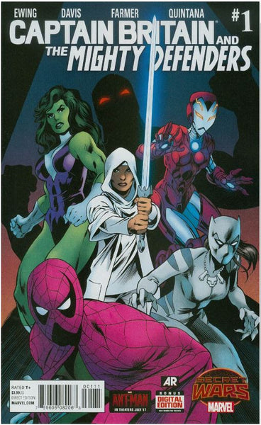 CAPTAIN BRITAIN AND MIGHTY DEFENDERS #1 SWA