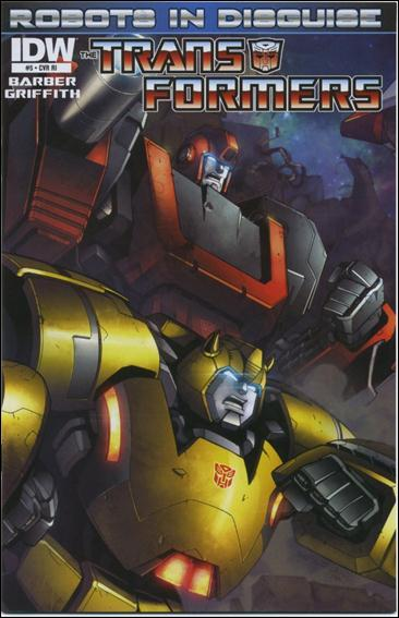 TRANSFORMERS ROBOTS IN DISGUISE #5 10 COPY INCV
