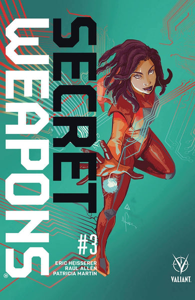 SECRET WEAPONS #3 CVR B RICHARDSON