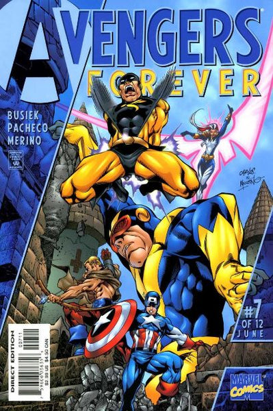 AVENGERS FOREVER #7 - Kings Comics