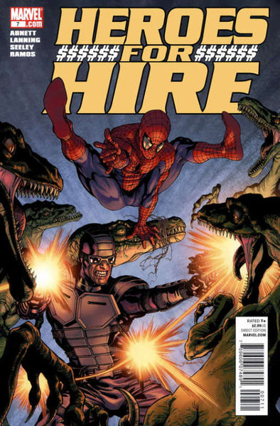 HEROES FOR HIRE VOL 3 #7 - Kings Comics