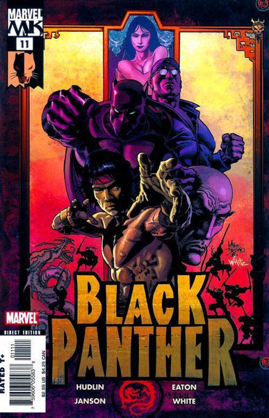 BLACK PANTHER VOL 4 #11 - Kings Comics