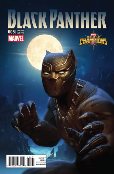 BLACK PANTHER VOL 6 #5 KABAM CONTEST OF CHAMPIONS GAME VAR - Kings Comics