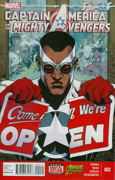 CAPTAIN AMERICA AND MIGHTY AVENGERS #2 AXIS - Kings Comics