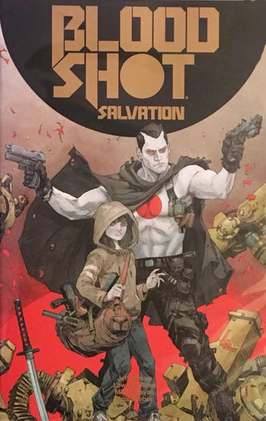 BLOODSHOT SALVATION #1 NYCC GOLD LOGO VARIANT