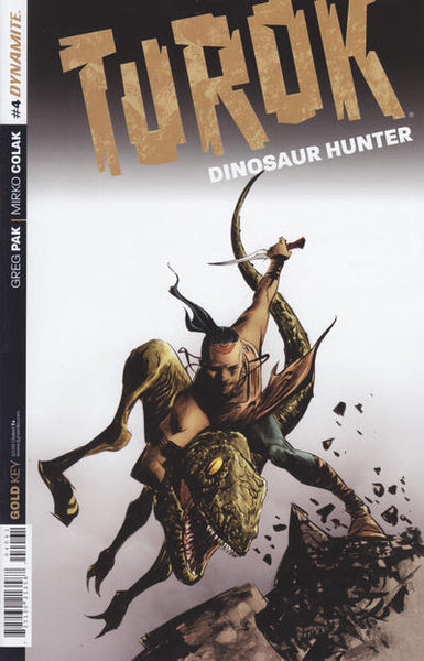 TUROK DINOSAUR HUNTER VOL 2 #4 LEE EXC SUBSCRIPTION VAR