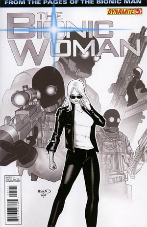 BIONIC WOMAN VOL 2 #5 10 COPY RENAUD B&W INCV