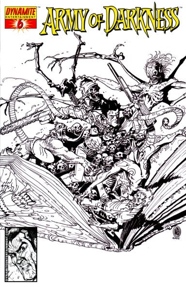 ARMY OF DARKNESS #6 SKETCH ED INCENTIVE - Kings Comics