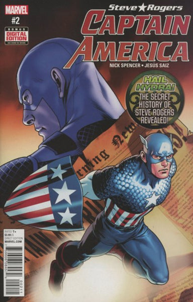 CAPTAIN AMERICA STEVE ROGERS #2 - Kings Comics