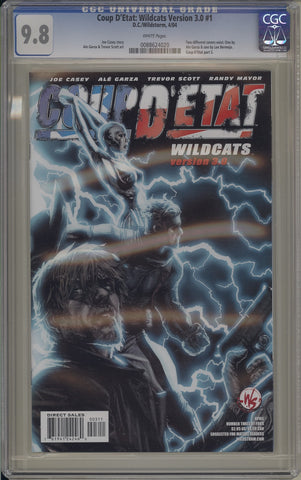 CGC COUP D'ETAT: WILDCATS VERSION 3.0 #1