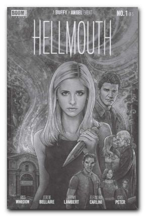 CBLDF EXCLUSIVE BUFFY VAMPIRE SLAYER ANGEL HELLMOUTH #1 VAR - Kings Comics