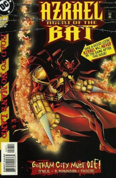 AZRAEL AGENT OF THE BAT #49 - Kings Comics