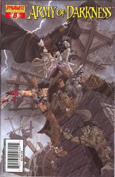ARMY OF DARKNESS #8 ASH VS DRACULA