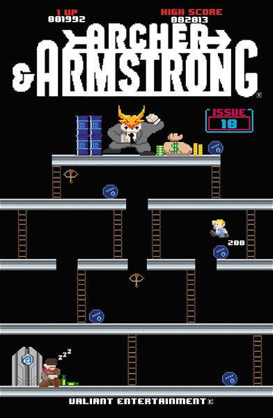 ARCHER & ARMSTRONG VOL 2 #10 ORDERALL 8-BIT VAR - Kings Comics