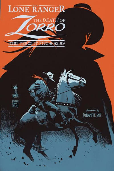 DEATH OF ZORRO #3