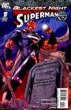 BLACKEST NIGHT SUPERMAN #1 VAR ED