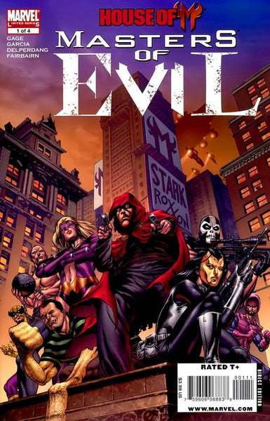 HOUSE OF M MASTERS OF EVIL #1 - Kings Comics