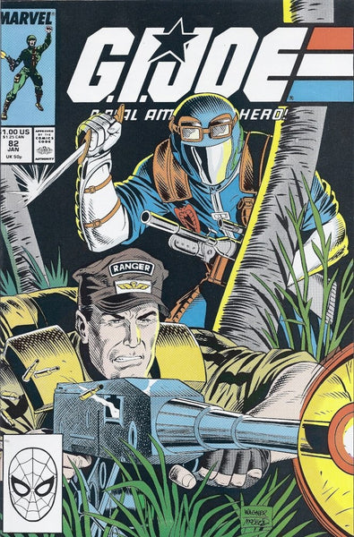 G.I. JOE A REAL AMERICAN HERO #82 (1982) - Kings Comics