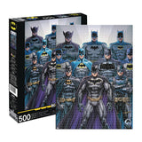 AQUARIUS BATMAN BATSUITS NICOLA SCOTT 500PC PUZZLE