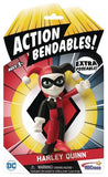ACTION BENDABLES JUSTICE LEAGUE HARLEY FIGURE - Kings Comics